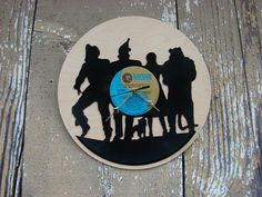 Repurposed recycled Vinyl Record   The Wizard of Oz by ReSpinIt, $45.00