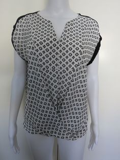 Size 8 KATIES Top Black White BUY 4 or more items for FREE POST C20 #Katies #Blouse #EveningOccasionCasual