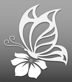 Cut out art - Flower Cut Outs Art & Islamic Graphics Butterfly Stencil, Butterfly Drawing, Butterfly Template, Printable Butterfly, Flower Stencils, Crown Template, Heart Template, Flower Template, Butterfly Pattern