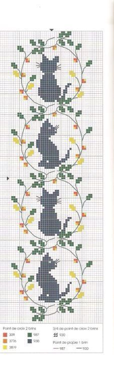 Thrilling Designing Your Own Cross Stitch Embroidery Patterns Ideas. Exhilarating Designing Your Own Cross Stitch Embroidery Patterns Ideas. Cat Cross Stitches, Cross Stitch Bookmarks, Cross Stitch Charts, Cross Stitch Designs, Cross Stitching, Cross Stitch Embroidery, Embroidery Patterns, Hand Embroidery, Cross Stitch Patterns