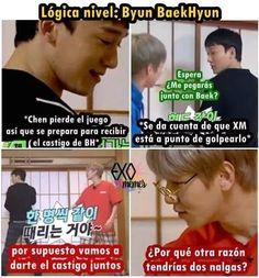 Chanbaek, Baekhyun, Exo Memes, Kpop, Bts, Funny, Life, Random, Frases