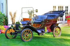 Gary's new toy 1909 Model T Ford touring car by Garys Famous Car Photos, via Flickr