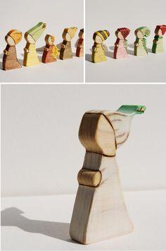 wooden woodmouse lovelies