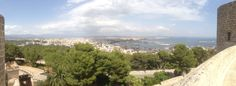 Palma de Mallorca  View from castle belver
