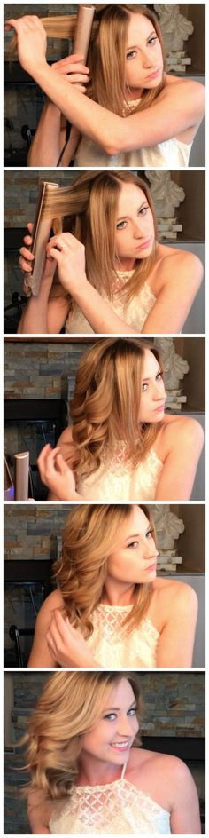 Great hairstyles for shorter length hair! Whether you are heading to work ,or getting ready for a night out, create beautiful hairstyles like this in minutes with the TYME Iron.