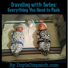 Traveling with Twins - Great read!!!!