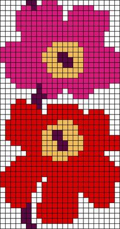 Tapestry Crochet Patterns, Crochet Quilt, Afghan Patterns, Crochet Art, Crochet Flowers, Tiny Cross Stitch, Cross Stitch Charts, Crochet Basics, Crochet For Beginners