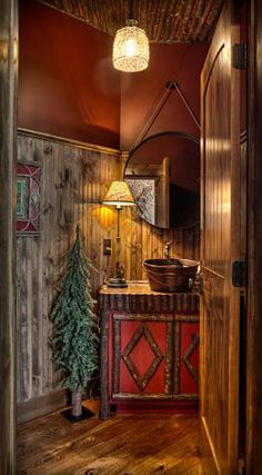 Lodge Style Kitchens Baths On Pinterest Rustic Bathrooms Rustic