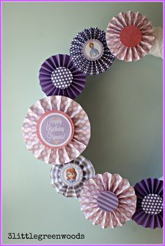 Sofia the First Birthday (Party on a Budget)
