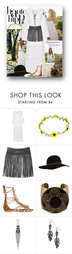 """""""Haute Hippie"""" by mimi1207 ❤ liked on Polyvore featuring Spell & the Gypsy Collective, Haute Hippie, Free People, Été Swim, Miguelina, Accessorize, BCBGMAXAZRIA, Visconti & du Réau, Sweet Romance and funfashion"""