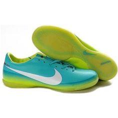 http://www.asneakers4u.com Nike Mercurial Victory III IC Indoor Football Trainers Soccer Cleats Lightblue Volt White