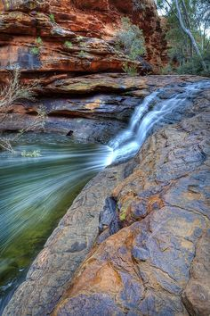 kings canyon, northern territory, australia.