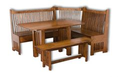 The Fusion Of Amish Furniture With Mission Style Furniture
