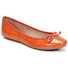 Karen Bow Ballerina Orange