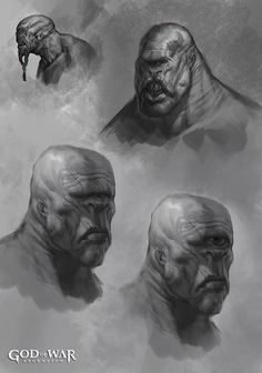 Polyphemus Face from God of War: Ascension