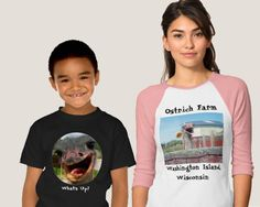 Funny Ostrich Shirts!