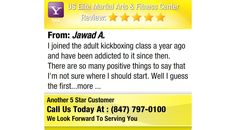 I joined the adult kickboxing class a year ago and have been addicted to it since then....