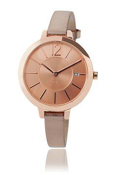 ES107242002 Esprit   rose coloured watch+metallic leather strap Brýle c546bcc9e97