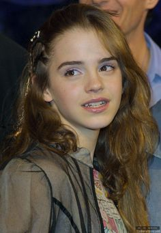 """Emma Watson at the Harry Potter and the Chamber of Secrets DVD Launch in 2003 """" Emma Watson Young, Emma Watson Pics, Emma Watson Cute, Emma Love, Emma Watson Beautiful, Emma Watson Sexiest, My Emma, Emma Thompson, Harry Potter Film"""