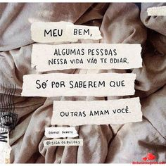 Triste, mais realidade. The Words, More Than Words, Cute Phrases, Love You, Just For You, Happy Thoughts, Positive Thoughts, Music Quotes, Self Esteem