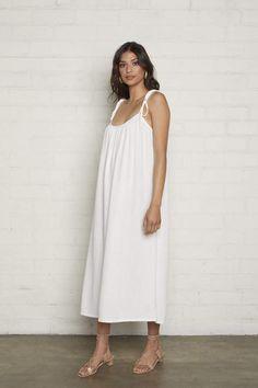 fd2c8c4a83930 Rachel Pally Linen Caity Dress - Chalk #Sponsored , #sponsored, #Linen#Pally#Rachel    my fashion in 2019   Fashion, Dresses, Cold shoulder dress