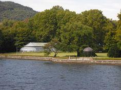 Conference Centre in the gardens of Villa Erba in Cernobbio on lake Como