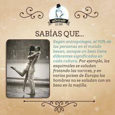 #SabíasQue #Sevilla #Atrevetenovedades Nos encanta que los besos sean universales