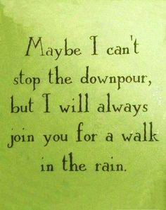 Love dancing in the rain!