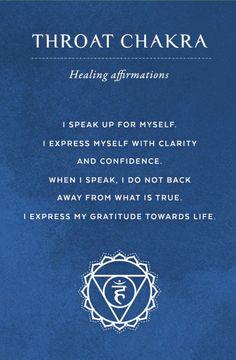 7 Chakra Affirmation Wallpapers Chakras Energy Chakra