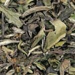 White Peony (100% organic, China)  White tea has the lowest caffeine content per weight of all teas. usually has a very light golden infusion and subtle taste.  Nice teas to drink later in the day.  A unique herbaceous flavor similar to toasted nuts and steamed bamboo, mild flavor, low astringency and savory finish.