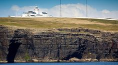 Loop Head Lighthouse. Take in the sights of the Wild Atlantic Way with an overnight stay in an Irish lighthouse.