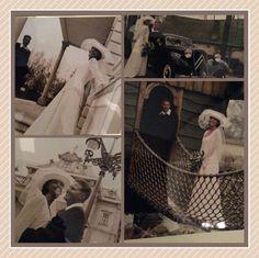 Nancy Vissers-de Ridder maakte op 28 januari 1998 met haar man trouwfoto's in de Efteling.
