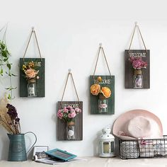 Hanging Vases, Hanging Pendants, Bohemian Bedding Sets, Living Room Restaurant, Handmade Wall Clocks, Flower Mobile, Wood Pendant Light, Ceramic Flower Pots, Basket Decoration