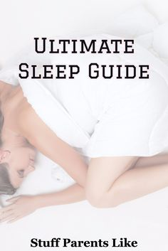 Want to sleep better?  This is the ultimate guide to ensure that happens. Health Tips, Health And Wellness, Health Fitness, Sleep Better, Sleep Deprivation, Fibromyalgia, Good Night Sleep, Life Hacks, Parents