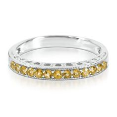 Husbands and kids birthstone band for stacking