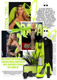 """2012 IT GIRL....Blake Lively"" by queenrachietemplateaddict ❤ liked on Polyvore"