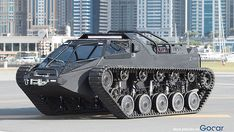 This Is The World's Fastest Luxury Super Tank - CarBuzz Snow Vehicles, Army Vehicles, Armored Vehicles, Hummer Cars, Hummer H3, Drive A Tank, Super Tank, Expedition Truck, Armored Truck