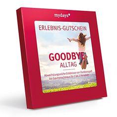 mydays Magic Box: Goodbye Alltag - Erlebnisgutscheine: das perfekte Geschenk für ein außergewöhnliches Erlebnis: http://amzn.to/2fjrez9