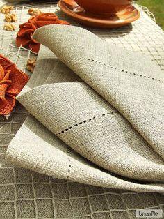 Natural Linen Napkin Una