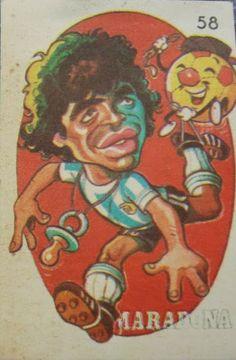 Diego Armando, Jennifer Beals, Retro, Ronald Mcdonald, Soccer, Painting, Fictional Characters, Cartoons, Vintage