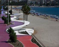 Benidorm Seafront - OAB (Office of Architecture in Barcelona, Carlos Ferrater – Xavier Martí Galí)