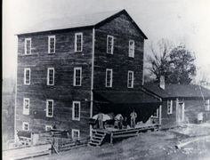 Andrew Hooper's (1805 - 1866) Mill Located about 5 miles West of Charleston, TN (Location Source: Reflections Past and Present 1836 - 1991 A Pictorial History - Bradley County, TN A Project of Bradley County, TN Historical Society - Cleveland, TN)
