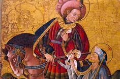 Hoy, 11 de noviembre, celebramos a ... San Martín de Tours: Un gran santo queridísimo para los franceses, y muy popular en todo el mundo