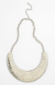 Robert Rose 'Sundance' Collar Necklace available at Nordstrom Collar Necklace, Beaded Necklace, Robert Rose, Lucky Day, Style Me, Jewelry Accessories, Nordstrom, Jewels, Metal