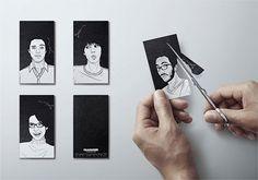 Designspiration — Glammer business cards - CardFaves