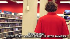 One of these days I want to be in Target and I will hear Ashton doing this. lol