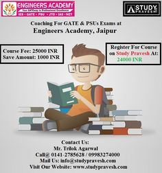 If you are looking for best technical exams coaching institutes in Jaipur, then visit Study Pravesh to find top international schools as per your educational qualification. Study Pravesh  is one of the best online education portal having thousands of educational websites.