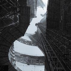 Zaha Hadid Architects Reveal Breathtaking Construction Photos of Beijing Skyscraper