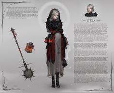 ArtStation - Lydia, Daria Leonova - https://www.artstation.com/artwork/z1J36