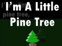 I'm a Little Pine Tree Song Kindergarten Songs, Preschool Music, Teaching Music, Preschool Ideas, Teaching Ideas, Preschool Christmas, Christmas Music, Christmas Videos, Music For Kids
